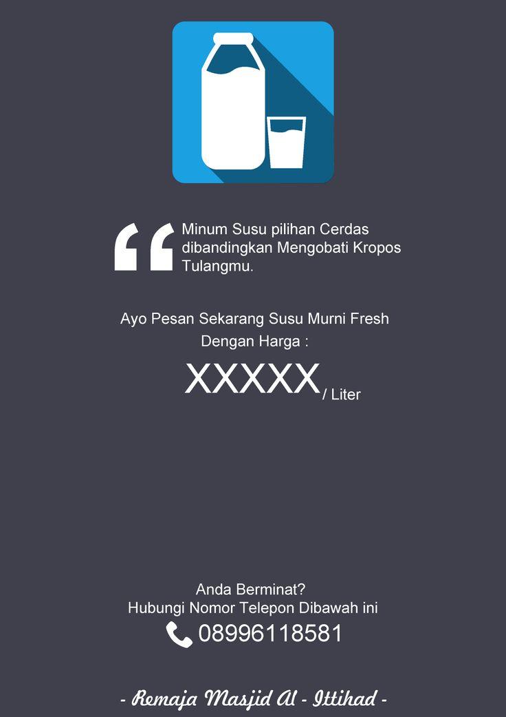 Poster Semarak Ramadhan - Dana Usaha Penjualan Susu