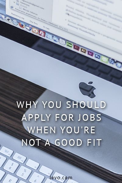 Don't think you're a good fit for that job? Here's why you should apply anyway. For more #career advice, #jobsearch tips, visit certified #careercoach, Hallie Crawford's blog: http://www.halliecrawford.com/career-blog/