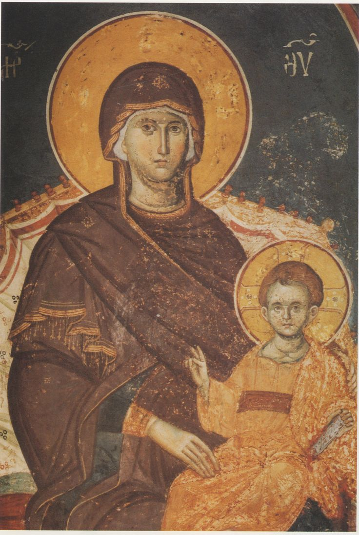 Our Lady with a Child - Macedonian School