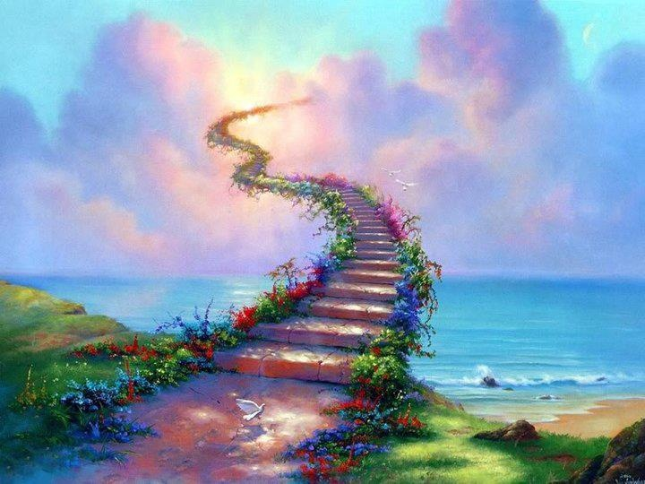 Stairway to heaven.........