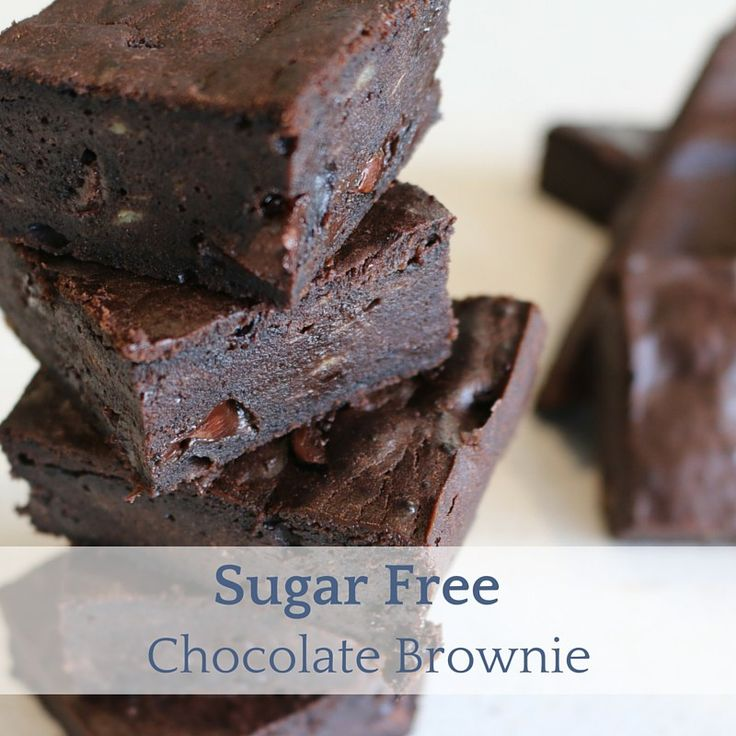 Sugar Free Chocolate Brownie.  This one is actually pretty good considering it sugar free, try it your self and find out!