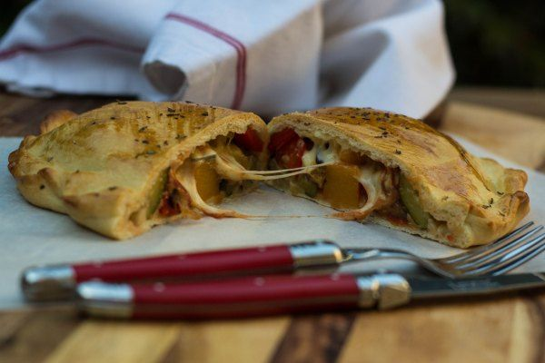 Roast Vegetable Calzone