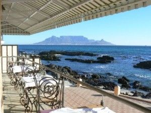 On the Rocks restaurant bloubergstrand