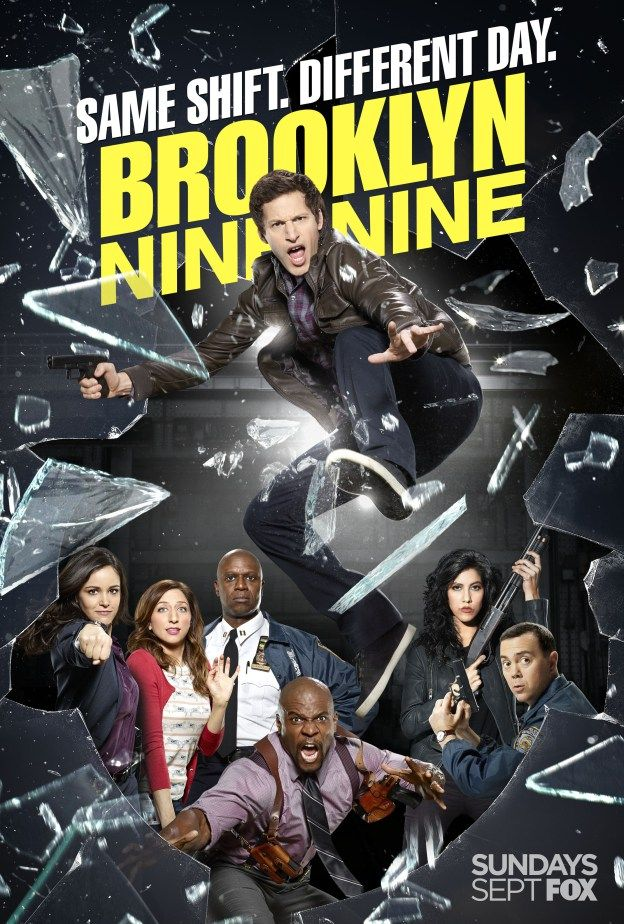 Brooklyn Nine-Nine Season 2. Andy Samberg leads a talented and super funny ensemble cast. The cops have run amok! Great show.