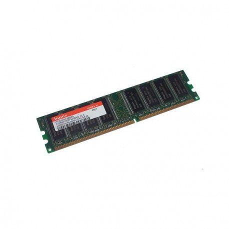 Ram Barrette Mémoire HYNIX 512MB DDR PC-3200U HYMD564646CP8J-D43 AA-T 1Rx8 CL3 PC