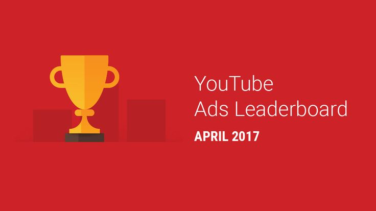 """Great site for YouTube & google info! This month's Ads Leaderboard shows the most popular videos that people chose in April. In this edition, Dude Perfect's """"Ping Pong Trick Shots 3"""" takes the top spot."""