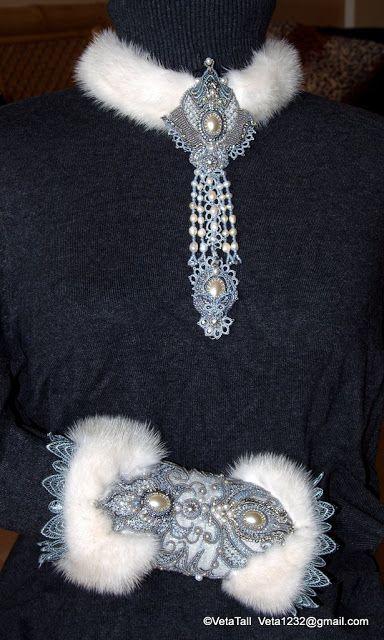 Veta's Art with Beads: Princecc of the North / Прицесса Севера fur