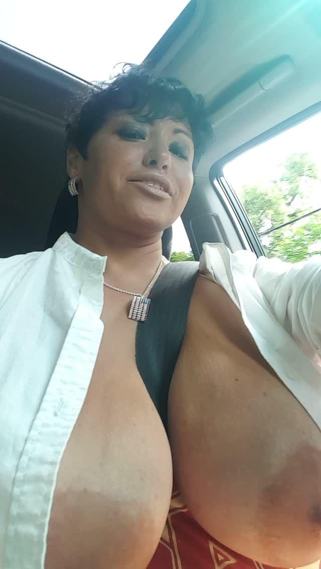 Drive crazy big tits god, pussy needs