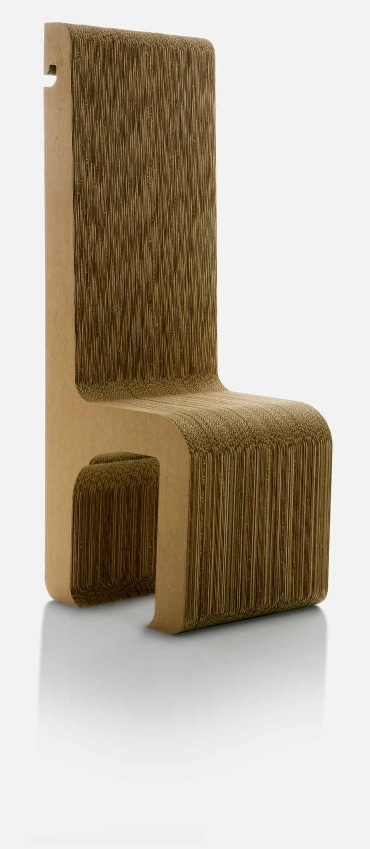 cardboard furniture design. simple chair in shape like a throne sanserif has sent us theirs valentina design cardboard furniture