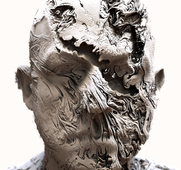 Abstract Portraits on Behance