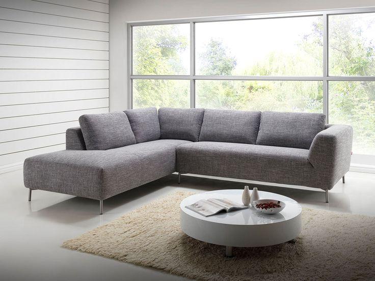 Fruit d'une fabrication de qualité, le canapé d'angle Moon gris Narbonne est une référence en matière de design et de confort.