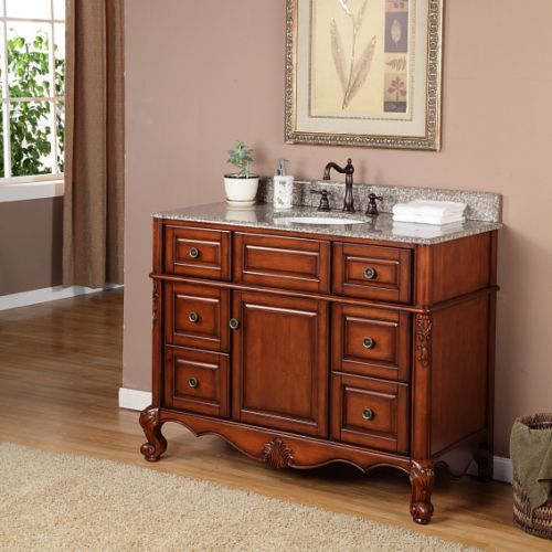 Prieto 45 Single Sink Vanity By Valore Bathrooms