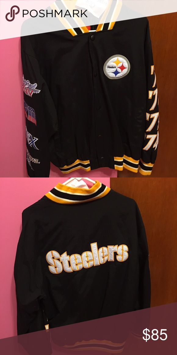 Pittsburgh Steelers Jacket NWOT, size M, similar models go for about $500 Jackets & Coats
