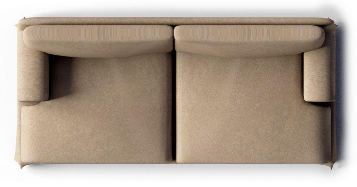 Ekekog 3 seat Sofa  Top