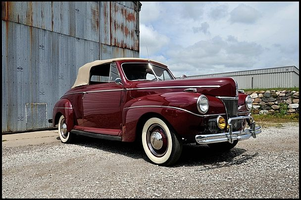 1941 Ford Super Deluxe Convertible Flathead V-8, 3-Speed  #Mecum #Chicago