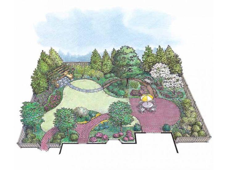Premier Fragrant Flowering Garden from Eplans - House Plan Code HWEPL11458
