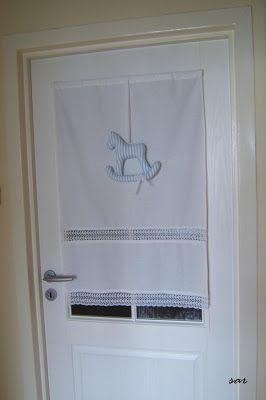 záclona na dvere