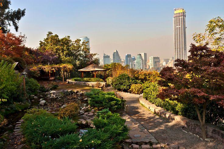 ♪ The Japanese Garden in Santiago.