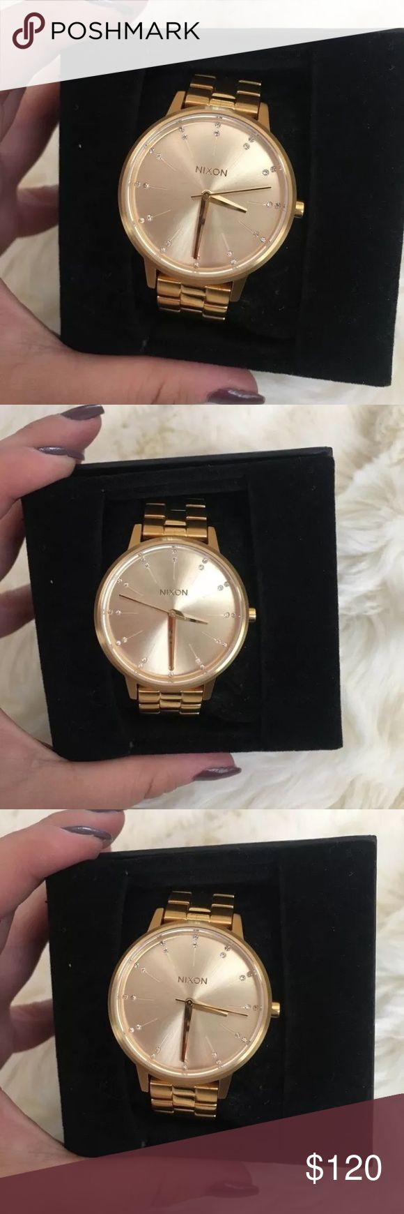 Nixon Women's Wrist Watch - Kensington Style Gold Brand new women's Nixon watch - never used. Extra links included. Nixon Accessories Watches