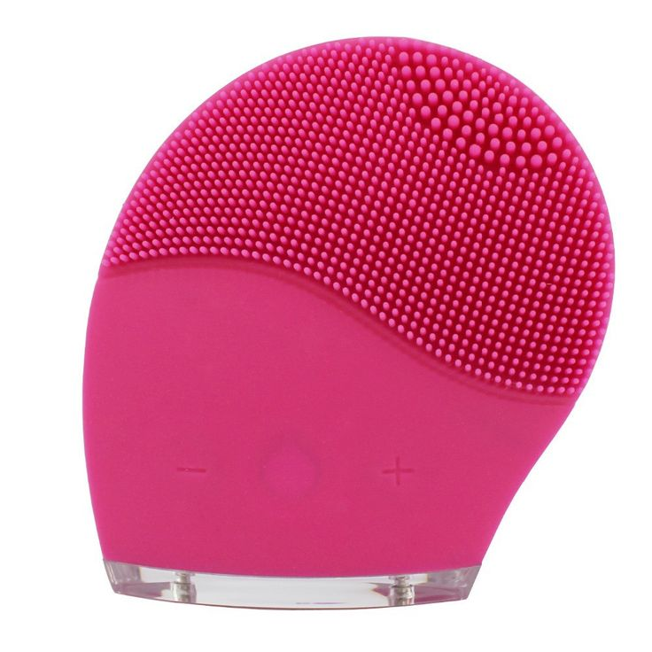 Electric Silicone Face Cleansing Instrument Sonic Facial Cleansing Brush USB Rechargeable Waterproof Design