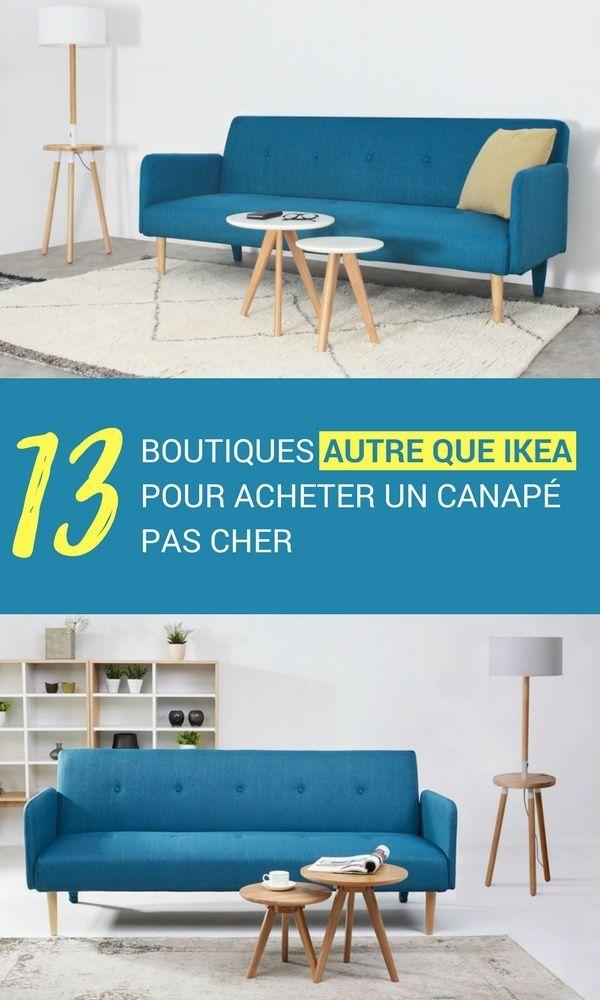 15 Autres Boutiques Que Ikea Pour Acheter Un Canape Pas Cher A