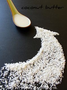 Creamy coconut butter from dry flakes in Thermomix.