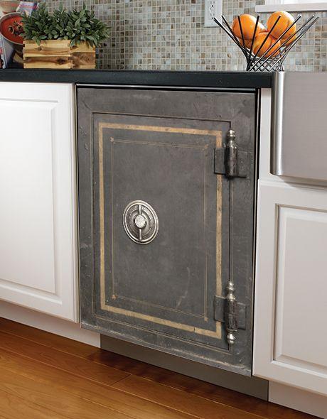 Vintage Safe Dishwasher Wrap Kitchen Remodel Cost