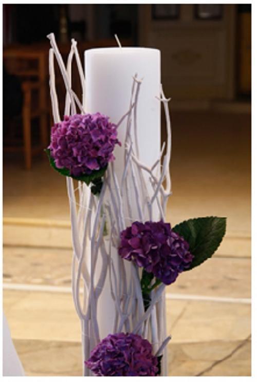ΓΑΜΟΣ Gamos - Λαμπάδα γάμου Ανθοπωλείο Έαρ
