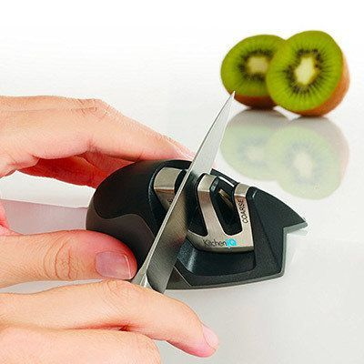 Amazon Finds Under $10: KitchenIQ Edge Grip 2 Stage Knife Sharpener