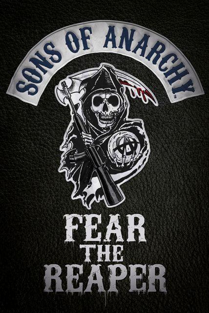Synowie Anarchii Fear The Reaper - plakat - 61x91,5 cm  Gdzie kupić? eplakaty.pl