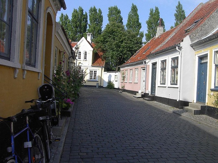 Ærøskøbing, on the island of Ærø in Denmark, is on my itinerary.