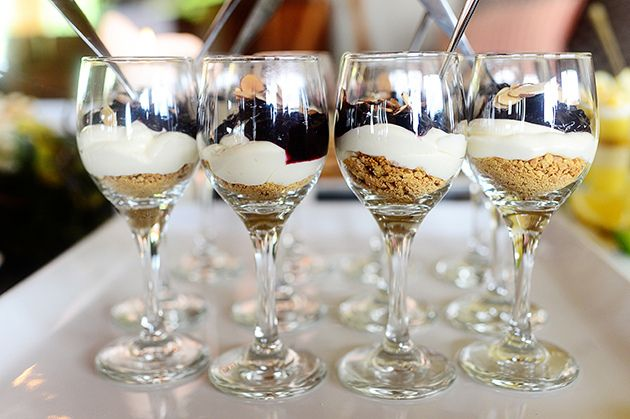 Cherry Cheesecake Shooters! Super, duper easy.