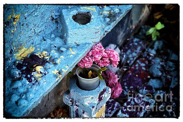 Blue Voodoo Photograph John Rizzuto