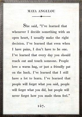 Art Print - Maya Angelou