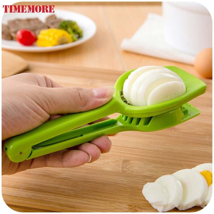 New Design Kitchen Gadgets Handy Plastic Egg Slicer Easy Grib For Mushroom Strawberries Kiwi