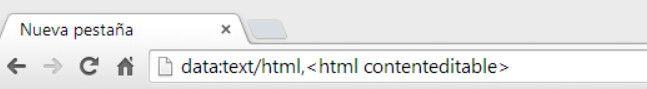 Cómo transformar en un pad de notas una pestaña del navegador Chromo sin utilizar una extensión. Es fácil y en un par de segundos ya pueden comenzar a escribir.