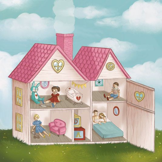 "Doll House by Melanie Martinez ""And in her picture perfect home Momma's drunk while daddy moans Her brother always comes home stoned She watches in her room alone"""
