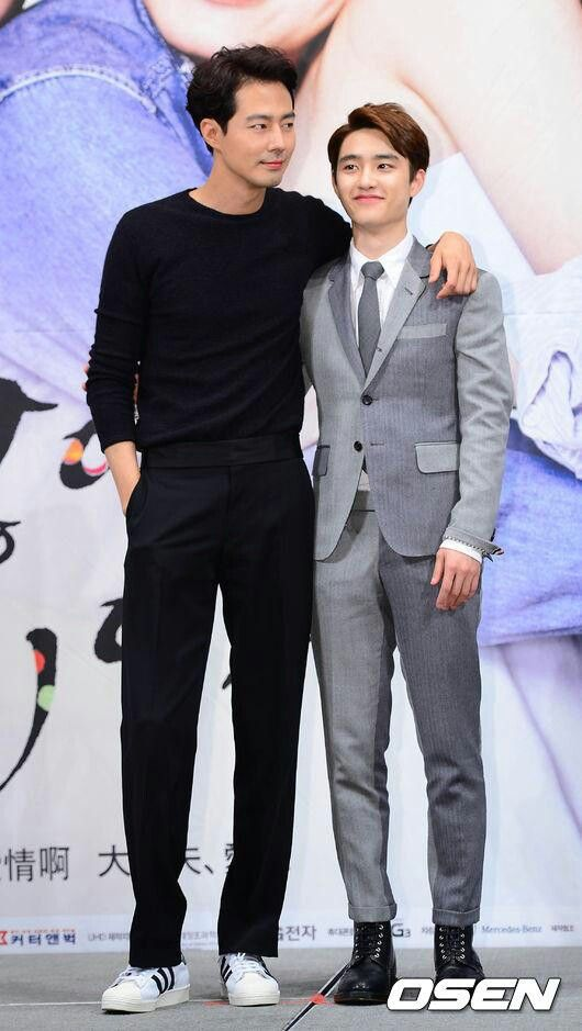 "D.O. With Jo in sung @ ""It's Okay, It's Love"" PressCon"