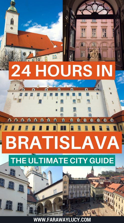 How to spend 24 hours in Slovakia's pretty capital, Bratislava, on your interrail travels. The ultimate city guide showing you where to stay, what to see and do, and where to eat and drink! Find out what the best cocktail bar in the city is, the best places to see the city from above and the many churches, palaces and castles you CANNOT miss. Click through to read more...