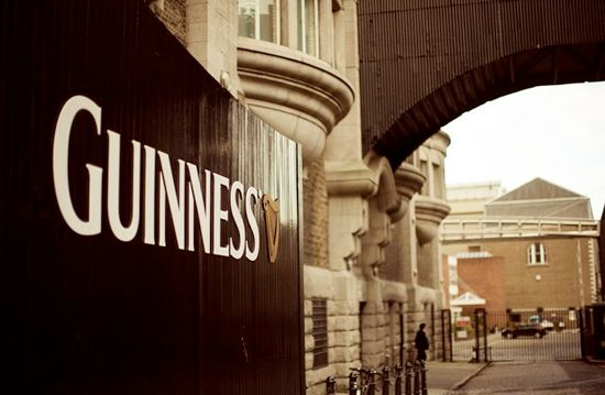 Guiness Storehouse and Brewery (Dublin, Ireland) - Had my first Guiness pint at the top