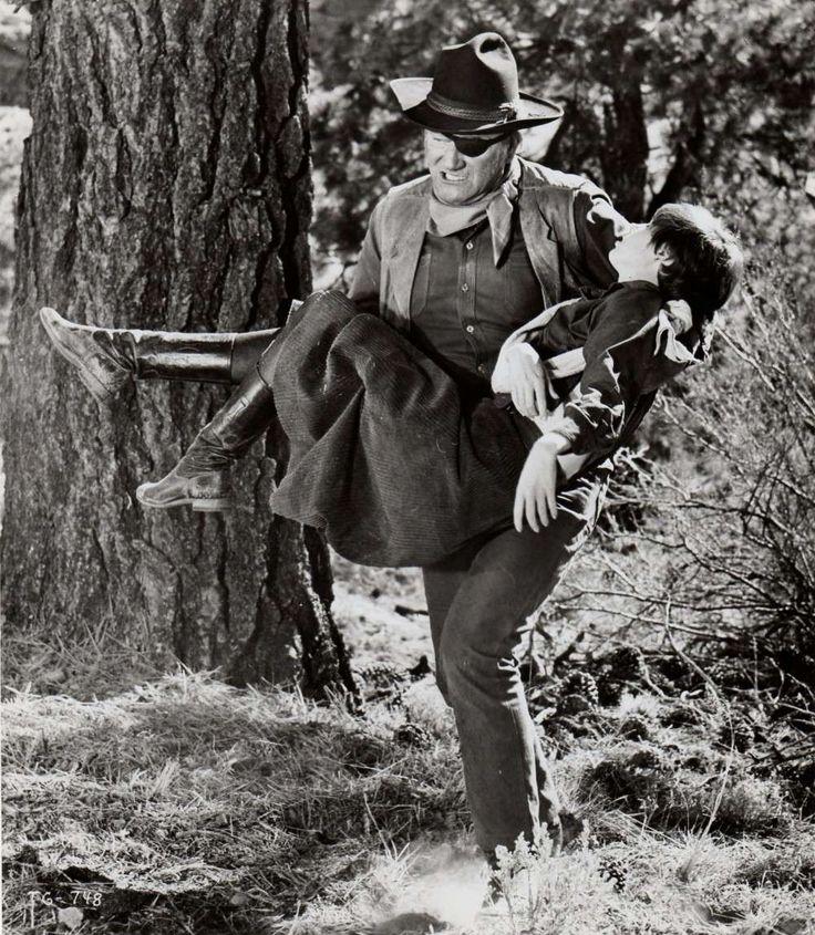 John Wayne & Kim Darby (True Grit, 1969)