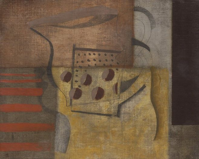 Ben Nicholson - Still Life with Jug and Profile 1932