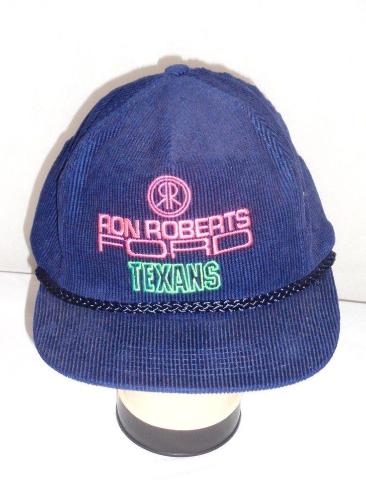 Wichita Falls Texans CBA basketball OSFA corduroy trucker hat cap #Unbranded #WichitaFallsTexans