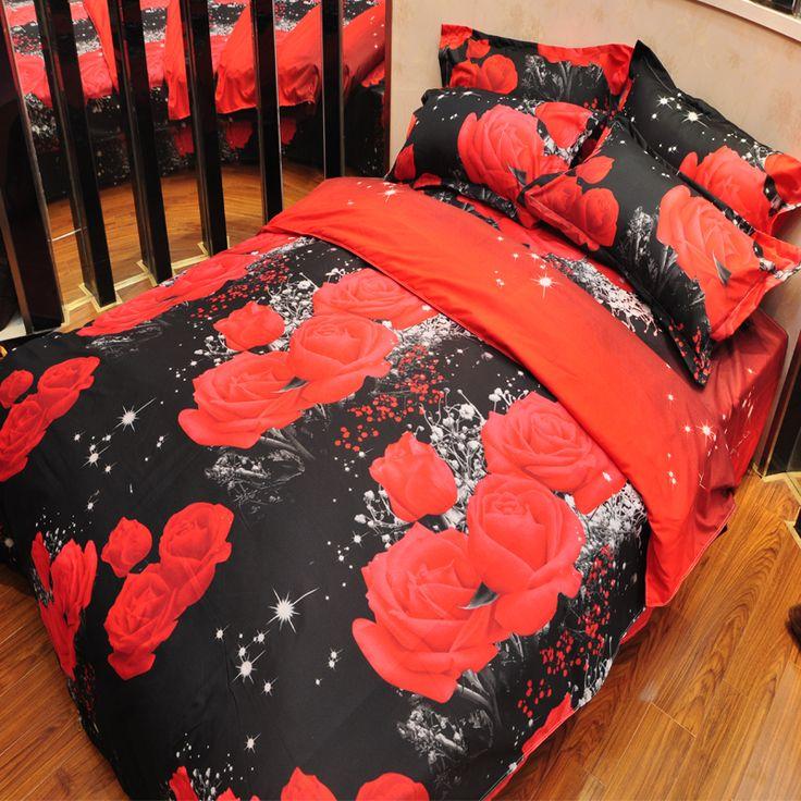 2017 Dier Kleurrijke leeuw Beddengoed set 3d olie Afdrukken bed set voor bed kleding dekbedovertrek + laken + 2 kussensloop 4 stks(China (Mainland))