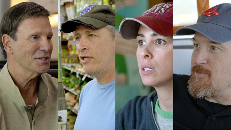 "Gad Elmaleh, Joel Hodgson, Larry David, Brian Regan and Bob Einstein ""Passing Ketchup"" - Comedians In Cars Getting Coffee by Jerry Seinfeld"