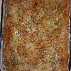 Baked Ziti With Spicy Pork And Sausage Ragu Recipe — Dishmaps