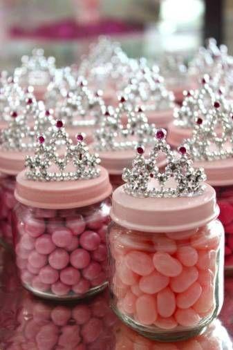 DIY Baby Food Jar Princess Crown Party Favors   http://www.sassydealz.com/2014/02/baby-girl-shower-ideas-budget.html