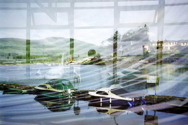 """Artista: Paul Halliday, """"Aeropuerto de Dublín"""", de la serie """"Cerca de ninguna parte"""", fotografía digital impresa a color, 2006."""