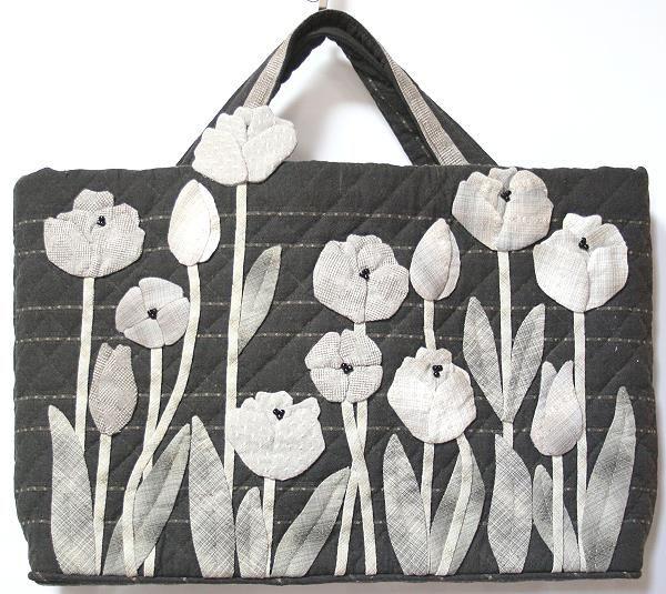 【預購】貝田明美 手提袋材料包/開花了
