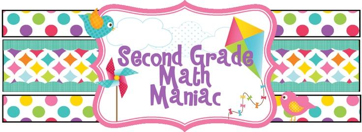 Second Grade Math ManiacMath Stuff, 2Nd Grade Math, Grade Math Great, Grade Ideas, 3Rd Grade Math, 2Nd Grades, Math Maniac, Blog, Classroom Ideas
